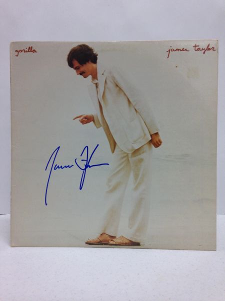 James Taylor **JAMES TAYLOR** Signed & Certified LP Cover with vinyl record - GV546210