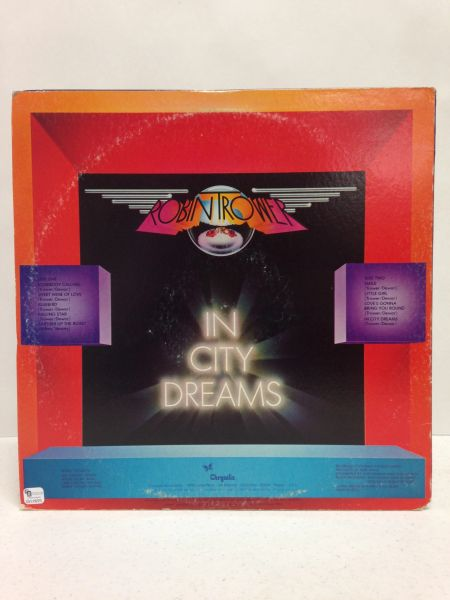 Robin Trower **IN CITY DREAMS** Signed & Certified LP Cover with vinyl record - GV519223