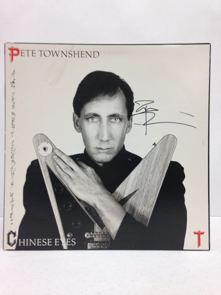 Pete Townshend **ALL THE BEST COWBOYS HAVE CHINESE EYES** Signed & Certified LP Cover with vinyl record - GV532676