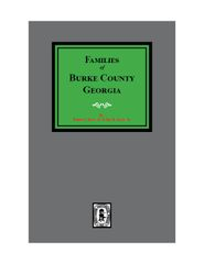 Burke County, Georgia, Families of.