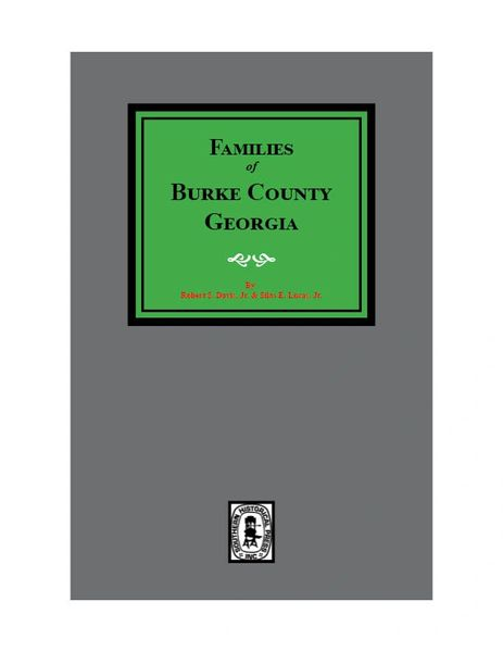 Burke County, Georgia, Families of.