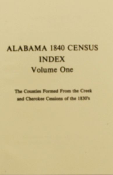 1840 Census of Alabama
