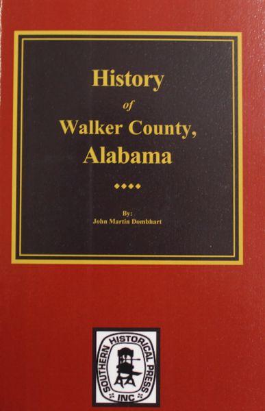 Walker County, Alabama, History of.