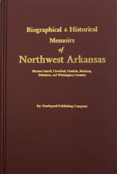 History of Northwestern Arkansas.