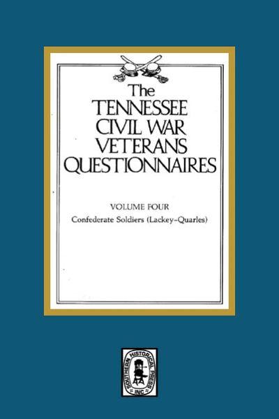 Tennessee Civil War Veteran Questionnaires. ( Vol. #4 )