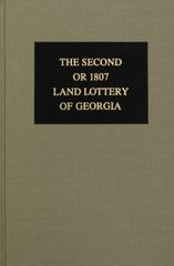 1807 Land Lottery of Georgia.