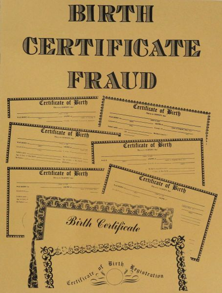 Birth Certificate Fraud
