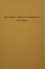 1850 Georgia Mortality Schedules or Census.
