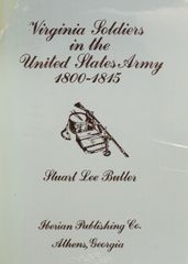 Virginia Soldiers in the United States Army, 1800-1815