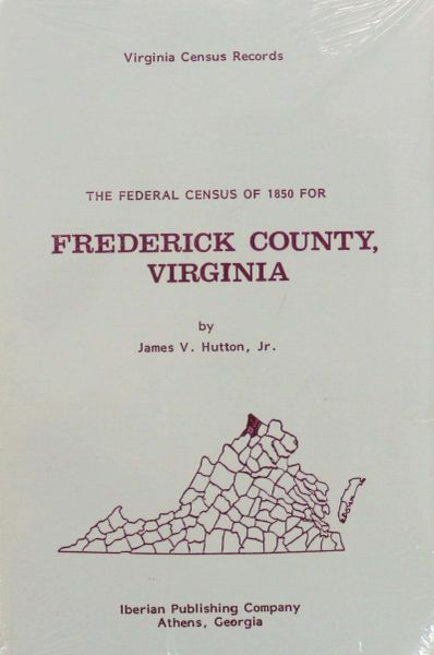 1850 Census of Frederick County, Virginia