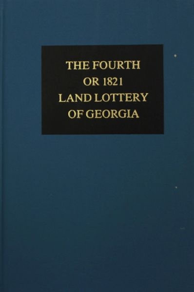 1821 Land Lottery of Georgia.