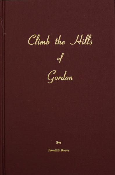 (Gordon County) Climb the Hills of Gordon.