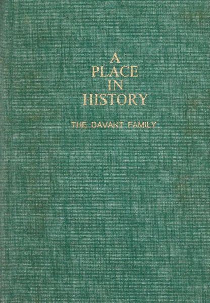 A Place in History: The Davant Family