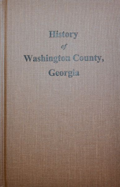 Washington County, Georgia, History of.