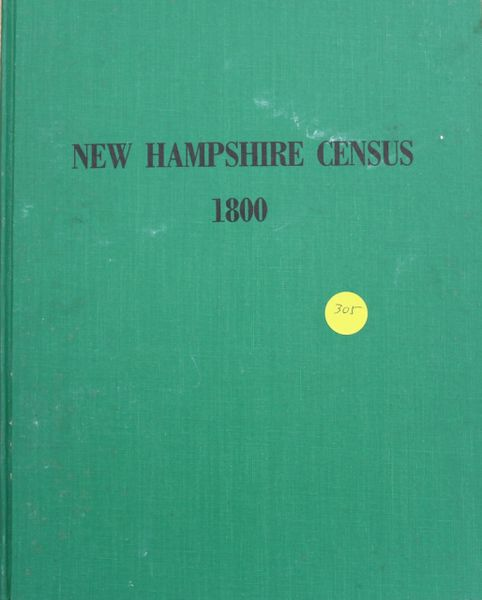1800 Census of New Hampshire