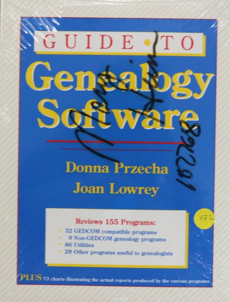 Guide to Genealogy Software