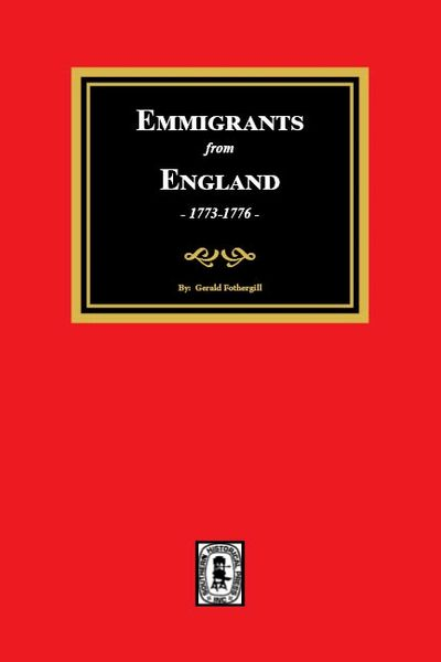 Emigrants from England, 1773-1776