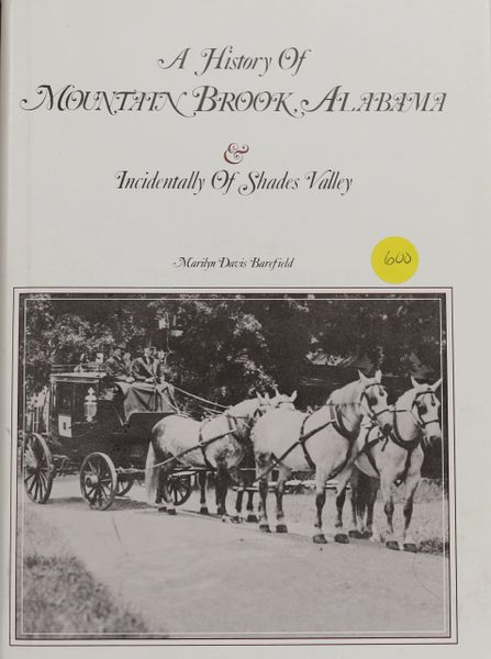 A History of Mountain Brook, Alabama