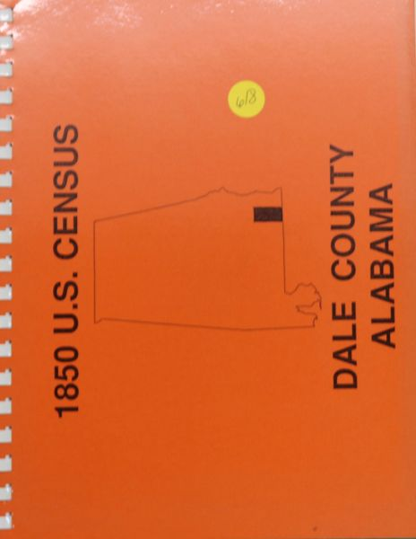 1850 Census of Dale County, Alabama