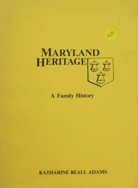 Maryland Heritage - A Family History