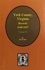 York County, Virginia 1648-1657, Records of. ( Vol. #3 )
