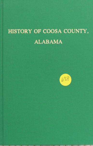 History of Coosa County, Alabama