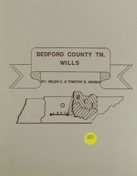 Bedford County, Tennessee Wills