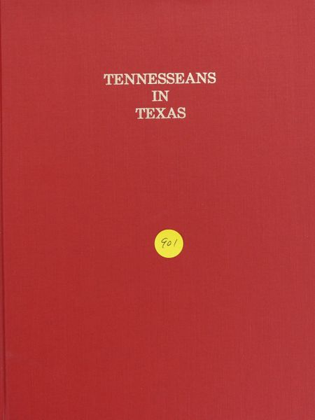 Tennessee in Texas (Hard Cover)