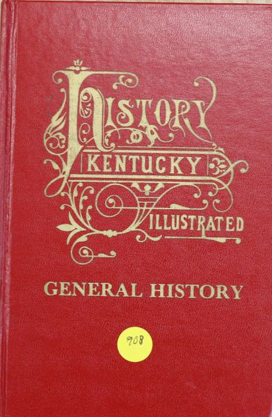 History of Kentucky: General History (Hard Cover)