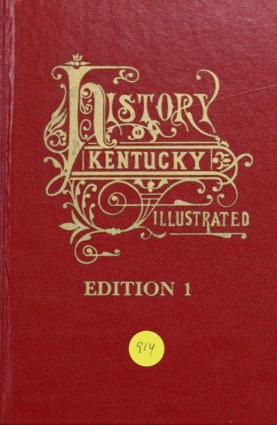 History of Kentucky: Edition 1