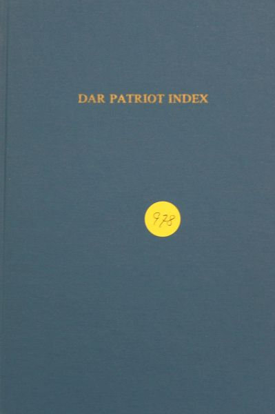 DAR Patriot Index