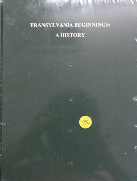 Transylvania Beginnings: A History