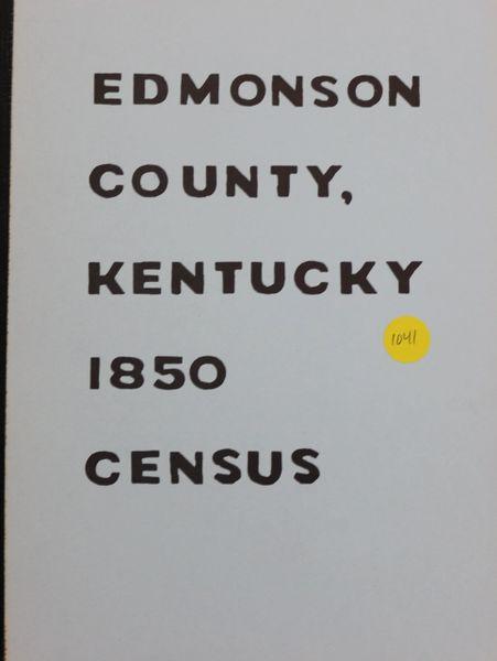 1850 Census of Edmondson County, kentucky
