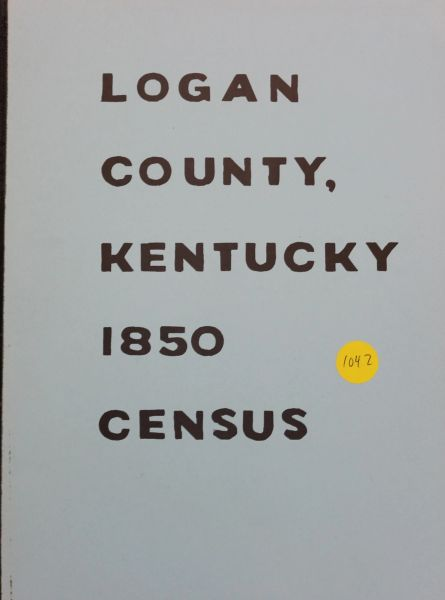 1850 Census of Logan County, Kentucky