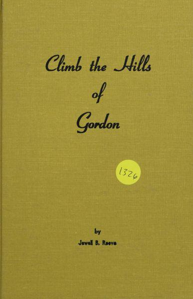 Climb the Hills of Gordon