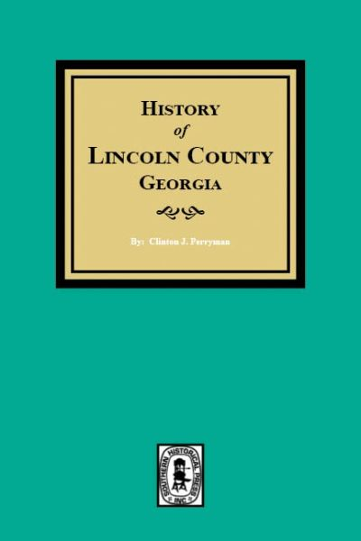History of Lincoln County, Georgia