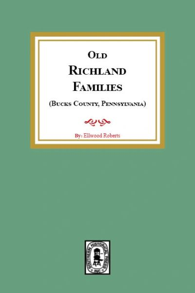 Old RICHLAND Families