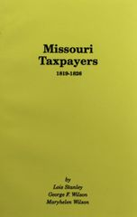 Missouri Taxpayers, 1819-1826.