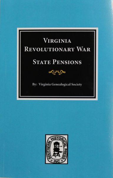 Virginia Revolutionary War State Pensions.