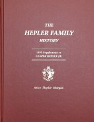 The HELPER FAMILY HISTORY.