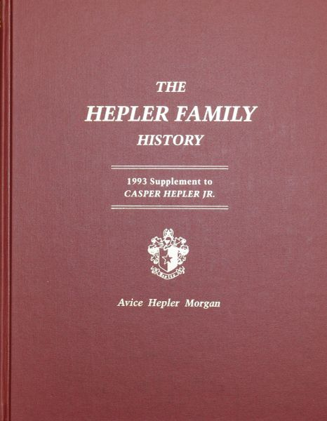 The HELPER FAMILY HISTORY.