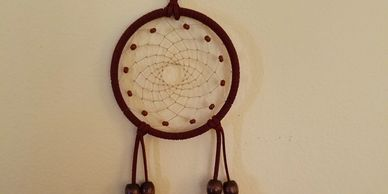 Dreamcatchers can be ordered in your choice of color and or style.