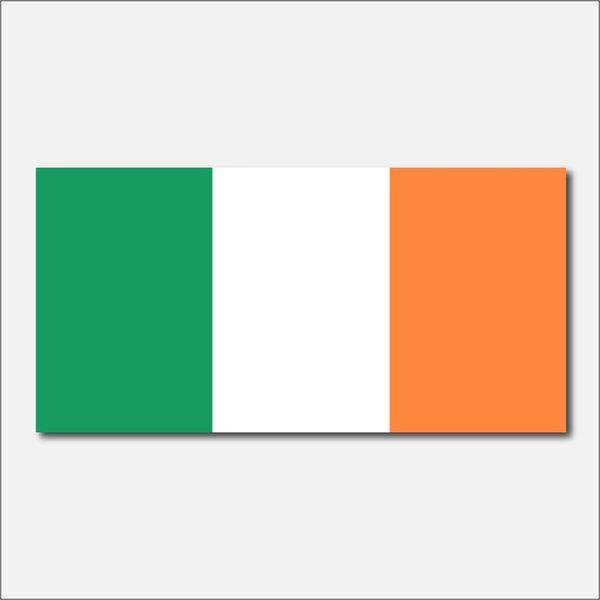 IRELAND COUNTRY FLAG VINYL DECAL STICKER
