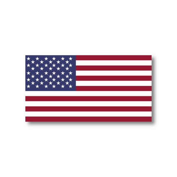 American Flag Decal USA Sticker Made in USA 3M military marines Army