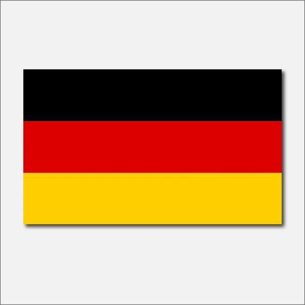 GERMANY STATE FLAG VINYL DECAL STICKER