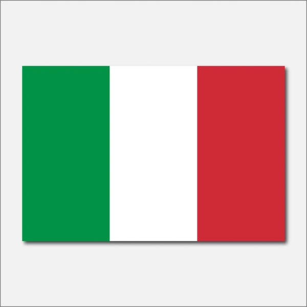 ITALY COUNTRY FLAG VINYL DECAL STICKER