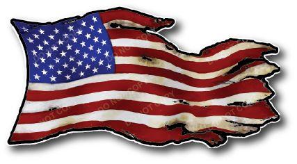 USA American Flag Decal Sticker Vinyl Car Truck Gift Bumper USA 2ND 3M Military Army Navy