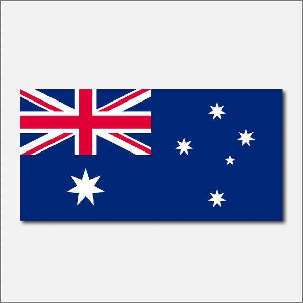 AUSTRALIA FLAG VINYL DECAL STICKER