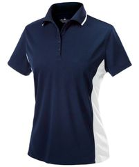Charles River WOMEN'S COLOR BLOCKED WICKING POLO CSNE
