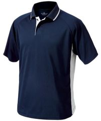 Charles River MEN'S COLOR BLOCKED WICKING POLO CSNE